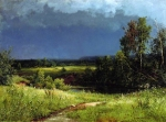 Ivan Ivanovich Shishkin (1832 – 1898)   Before the Storm  Oil on canvas, 1884   110 x 150 cm