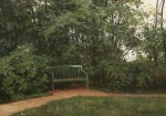 Ivan Ivanovich Shishkin (1832 � 1898)   Bench in the mall.   Oil on canvas, 1872