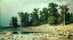 Ivan Ivanovich Shishkin (1832 – 1898)   Coast. Peter's Grove in Sestroretsk  Oil on canvas, 1886    92 x 169 cm