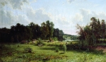Ivan Ivanovich Shishkin (1832 – 1898)   Coppice (Noon)    Oil on canvas, 1872   121 x 207  cm