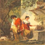 Taras Hryhorovych Shevchenko (1814 - 1861)   Aborted date  Watercolor on paper, 1839 - 1840  23 × 18,5 см  State Shevchenko Museum, Kyiv, Ukraine