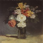 Vasnetsov Viktor Mikhailovich (1848 — 1926)  Bouquet. Abramtsevo. The beginning of 1880  Oil on canvas  The State Tretyakov Gallery, Moscow, Russia