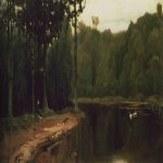 Vasnetsov Viktor Mikhailovich (1848 — 1926)  Lull, 1881  Oil on canvas  The State Tretyakov Gallery, Moscow, Russia