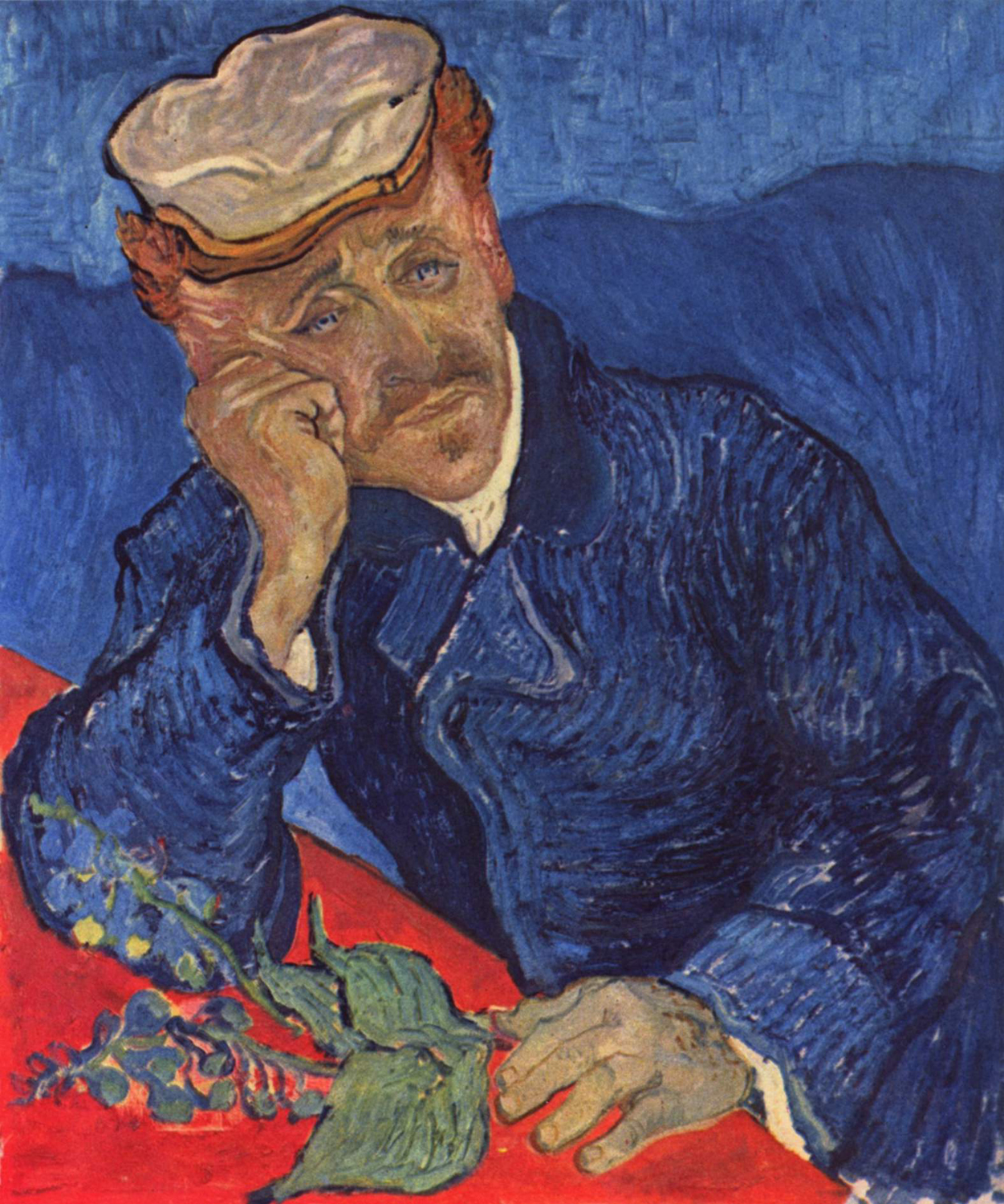 Vincent van gogh 1853 1890 portrait of dr gachet 2nd for What is the most expensive painting