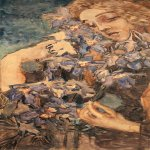 Mikhail Vrubel (1856-1910)  Primavera   Paper, watercolors, 1897  The State Russian Museum, St. Petersburg, Russia
