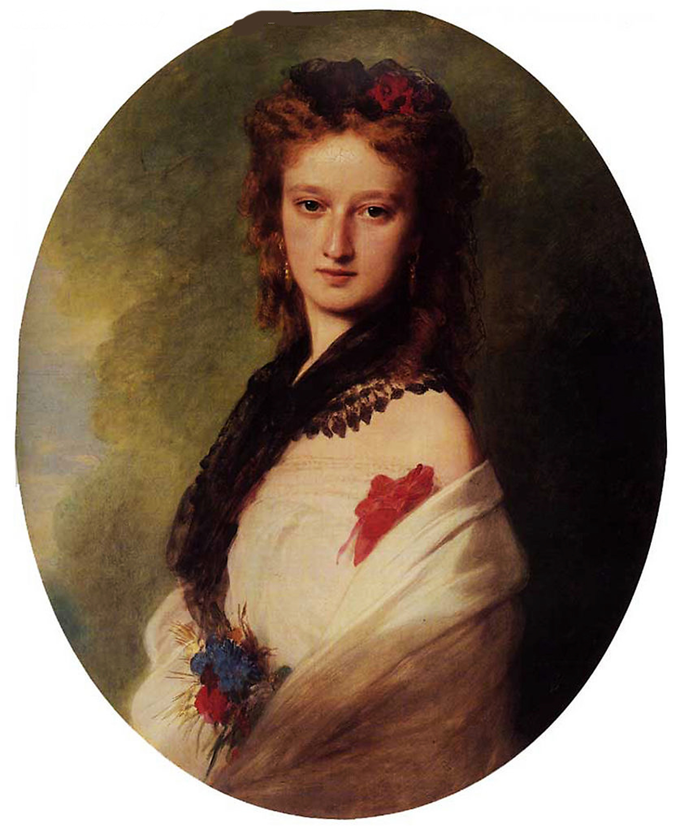 Franz Xavier Winterhalter (1805-1873) Zofia Potocka, Countess Zamoyska Oil on canvas, 1870 Private collection