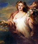 Franz Xavier Winterhalter (1805-1873) Der Frubling Oil on canvas Private collection