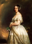 Franz Xavier Winterhalter (1805-1873) Queen Victoria Oil on canvas, 1842 Private collection