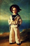 Franz Xavier Winterhalter (1805-1873) Albert Edward, Prince of Wales Oil on canvas, 1846 Private collection