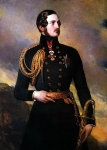 Franz Xavier Winterhalter (1805-1873) Prince Albert Oil on canvas, 1842 Private collection