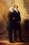 Franz Xavier Winterhalter (1805-1873) Arthur Wellesley, 1st Duke of Wellington with Sir Robert Peel Oil on canvas, 1844 Private collection