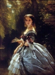 Franz Xavier Winterhalter (1805-1873) Princess Elizabeth Esperovna Belosselsky�Belosenky, Princess Troubetskoi Oil on canvas, 1859 Private collection