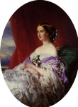 Franz Xavier Winterhalter (1805-1873) The Empress Eugenie Oil on canvas, 1854 Private collection