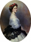 Franz Xavier Winterhalter (1805-1873) Princess Alice Oil on canvas, 1861 Private collection