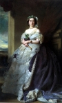 Franz Xavier Winterhalter (1805-1873) Julia Louise Bosville, Lady Middleton Oil on canvas, 1863 Private collection