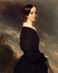 Franz Xavier Winterhalter (1805-1873) Françoise Caroline Gonzague, Princesse de Joinville Oil on canvas, 1844 Private collection