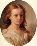 Franz Xavier Winterhalter (1805-1873) Roza Potocka Oil on canvas, 1856 Private collection
