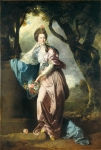 Johan Zoffany, Zoffani or Zauffelij (13 March 1733 – 11 November 1810) Mrs Woodhull Oil on canvas, ca. 1770 Width: 1,651 cm (650 in). Height: 2,438 cm (959.8 in) Tate Britain, Millbank, London, England