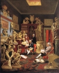 Johan Zoffany, Zoffani or Zauffelij (13 March 1733 – 11 November 1810) Charles Towneley in his Sculpture Gallery Oil on canvas, 1782 127 x 102 cm Art Gallery and Museum, Burnley, United Kingdom