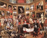 Johan Zoffany, Zoffani or Zauffelij (13 March 1733 – 11 November 1810) The Tribuna of the Uffizi Oil on canvas, 1772-78 123.5 cm × 155.0 cm (48.6 in × 61.0 in) Art Gallery and Museum, Burnley, United Kingdom