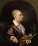 Johan Zoffany, Zoffani or Zauffelij (13 March 1733 – 11 November 1810) David Garrick Oil on canvas, Unknown 105.2 x 127 cm (41 3/8 x 50 in.) National Portrait Gallery, London, UK