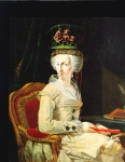 Johan Zoffany, Zoffani or Zauffelij (13 March 1733 – 11 November 1810) Portrait of Archduchess Maria Amalia of Austria (1746-1804) Oil on canvas, ca. 1770 Galleria Nazionale, Parma, Italy