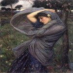 John William Waterhouse (6 April 1849 — 10 February 1917)  Boreas  Oil on canvas, 1903  24