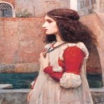 John William Waterhouse (6 April 1849 — 10 February 1917)  Juliet  Oil on canvas, 1898  70 x 46.5 cm  Private collection
