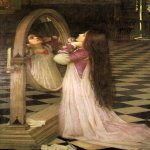 John William Waterhouse (6 April 1849 � 10 February 1917)  Mariana in the South  Oil on canvas, circa 1897  114 x 74 cm  Private collection