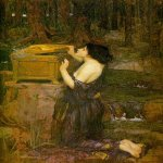 John William Waterhouse (6 April 1849 — 10 February 1917)  Pandora  Oil on canvas, 1896  152 x 91 cm  Private collection