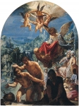 Adam Elsheimer (18 March 1578 – 11 December 1610) The Baptism of Christ probably 1598­1600 Oil on copper,  28.1 x 21 cm National Gallery, London, UK