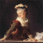 Jean-Honore Fragonard (1732-1806)  Marie-Madeleine Guimard, Dancer  Oil on canvas, c.1769  32 x 25 1/2 inches (81.5 x 65 cm)  Musée du Louvre, Paris, France