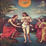 Francesco Francia (1450-1517)  Baptism of Christ  Tempera on wood, 1509  Gemäldegalerie Alte Meister, Dresden