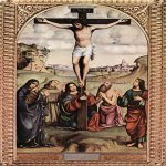 Francesco Francia (1450-1517)  Crucifixion  Panel, 1500  Private collection